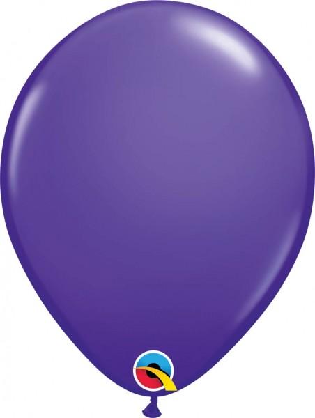 "Qualatex Latexballon Fashion Purple Violet 28cm/11"" 100 Stück"
