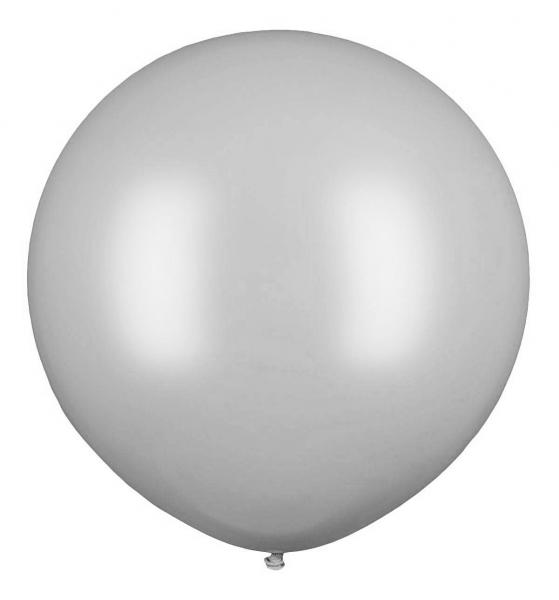 """Czermak Riesenballon 80cm/32"""" Silber"""