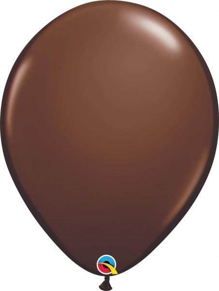 "Qualatex Latexballon Fashion Chocolate Brown 40cm/16"" 50 Stück"