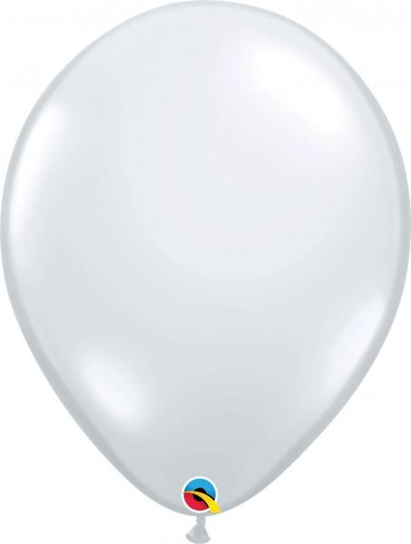 "Qualatex Latexballon Jewel Diamond Clear 40cm/16"" 50 Stück"