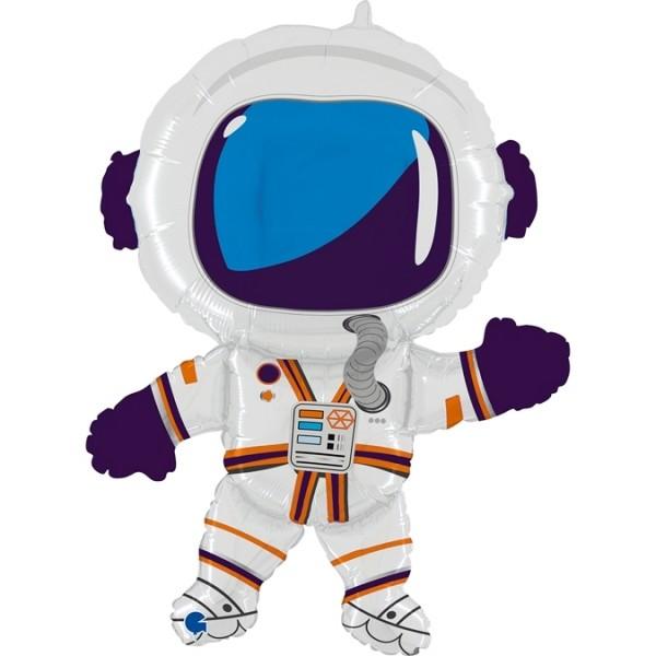 """Betallic Folienballon Astronaut 90cm/36"""""""