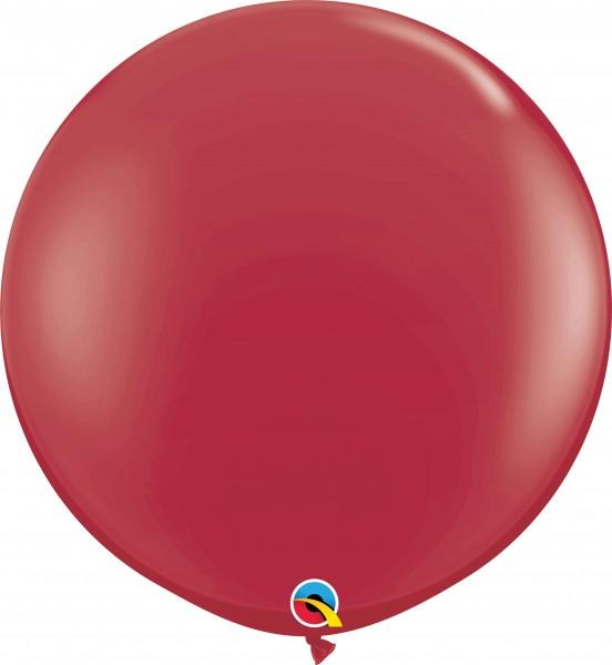 Qualatex Latexballon Fashion Maroon 90cm/3' 2 Stück
