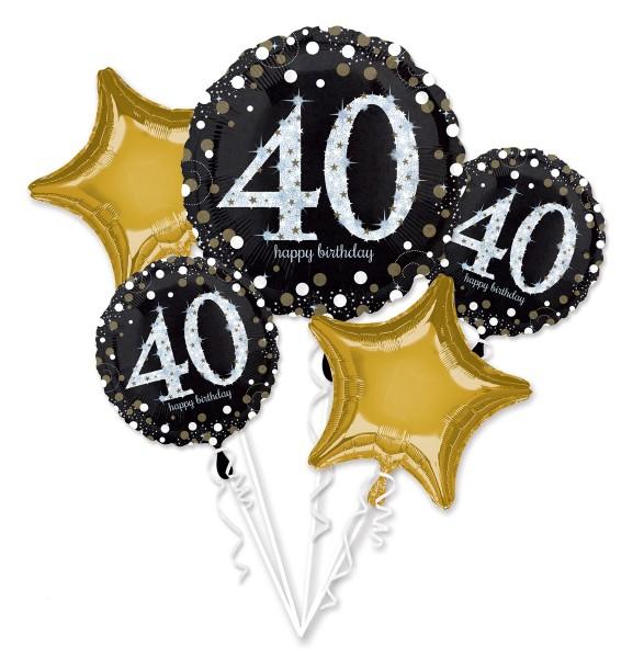 "Anagram Ballon Party Set ""40. Geburtstag"""