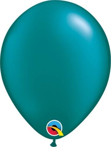 "Qualatex Latexballon Radiant Pearl Teal 13cm/5"" 100 Stück"