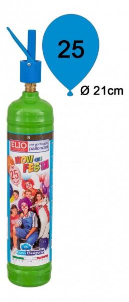 Ballongas Helium Einwegflasche 0,19m³