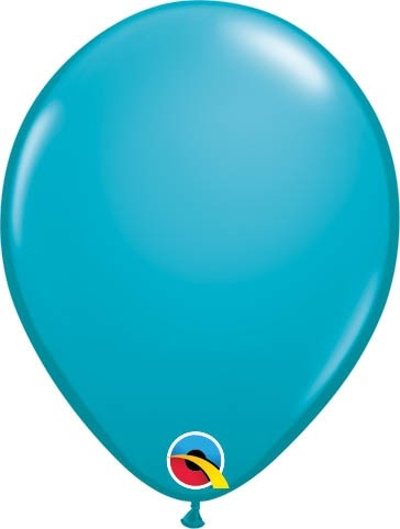"Qualatex Latexballon Fashion Tropical Teal 13cm/5"" 100 Stück"