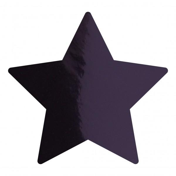 Goodtimes Folienkonfetti 1,7cm Stern 100g Schwarz