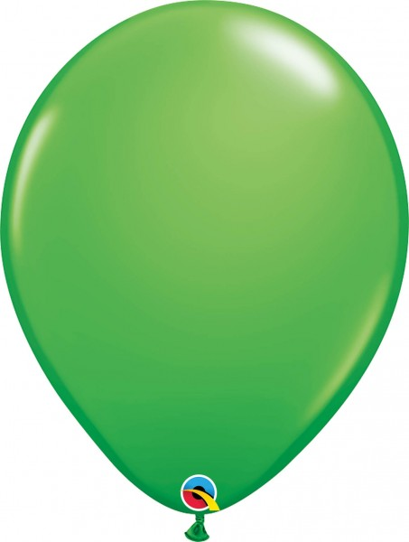 "Qualatex Latexballon Fashion Spring Green 28cm/11"" 100 Stück"