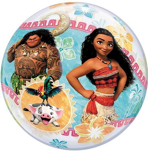 """Qualatex Bubbles Disney Vaiana 55cm/22"""""""