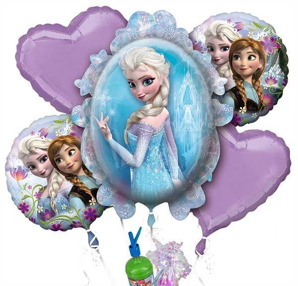 """Folienballon Helium Set """"Frozen - Die Eiskönigin"""""""