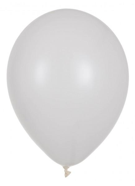 "Globos Luftballons Weiß Naturlatex 30cm/12"" 100er Packung"