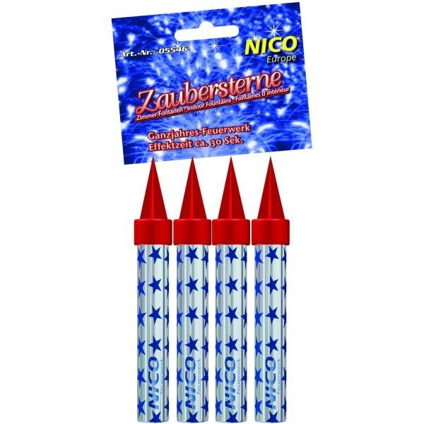 Nico Zaubersterne, ca. 30 Sekunden, 4er-Schachtel