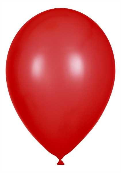 Kristall Luftballons, Rot, 30cm Ø, 100 Stück