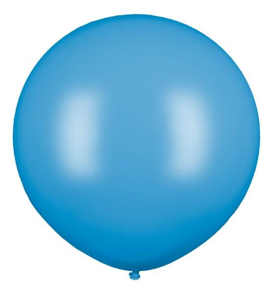 Riesenluftballon, Hellblau, 160cm Ø