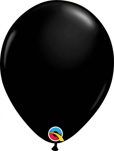 "Qualatex Latexballon Fashion Onyx Black 28cm/11"" 100 Stück"