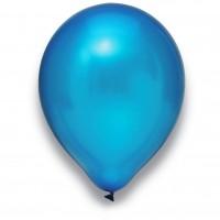 "Globos Luftballons Metallic Blau Naturlatex 30cm/12"" 100er Packung"