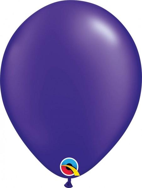 """Qualatex Latexballon Radiant Pearl Quartz Purple 28cm/11"""" 100 Stück"""