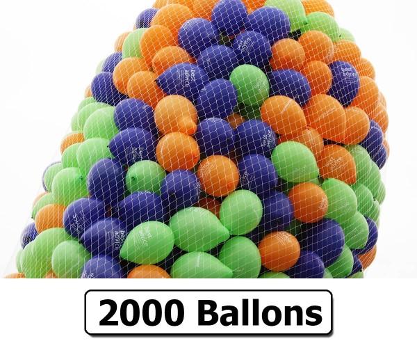 Ballonnetz für 2000 Ballons