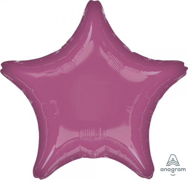 "Anagram Folienballon Stern Metallic Lavender 50cm/20"""