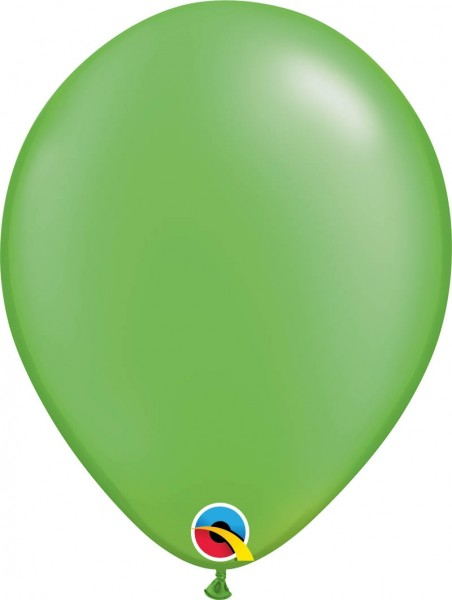 "Qualatex Latexballon Radiant Pearl Lime Green 28cm/11"" 100 Stück"