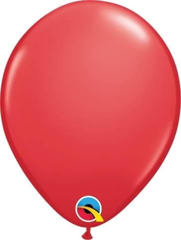 "Qualatex Latexballon Standard Red 13cm/5"" 100 Stück"