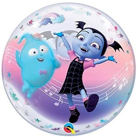 "Qualatex Bubbles Disney Vampirina 55cm/22"""