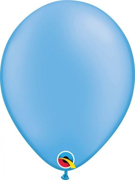"Qualatex Latexballon Neon Blue 28cm/11"" 100 Stück"
