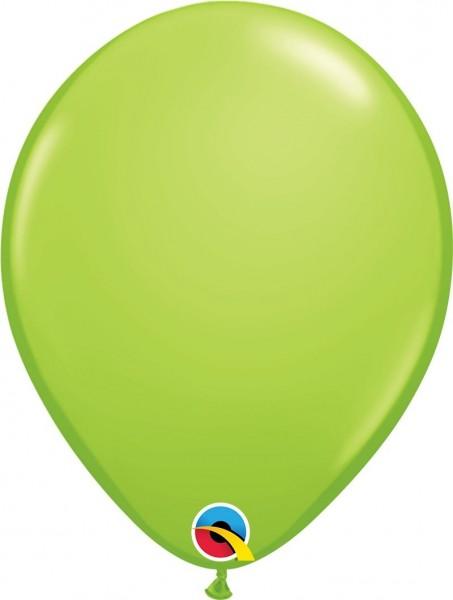"Qualatex Latexballon Lime Green 28cm/11"" 6 Stück"