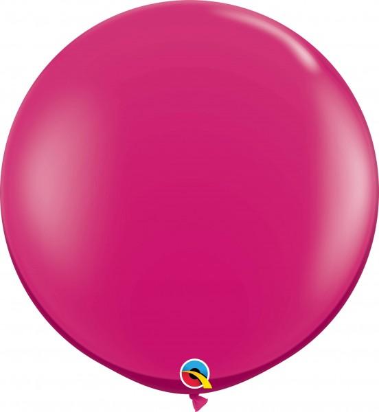 Qualatex Latexballon Jewel Magenta 90cm/3' 2 Stück
