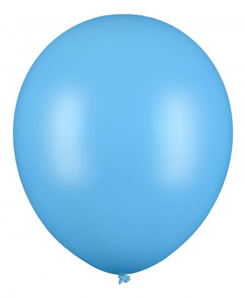 Riesenluftballon, Hellblau, 60cm Ø