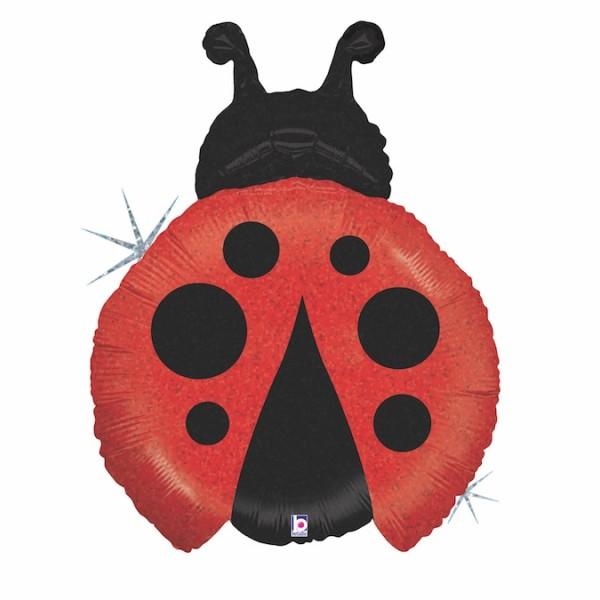 "Betallic Folienballon Little Lady Bug 69cm/27"""