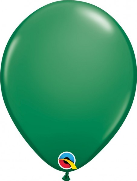 "Qualatex Latexballon Green 28cm/11"" 6 Stück"