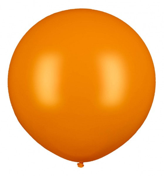 Riesen Ballon, Orange, 160cm Ø