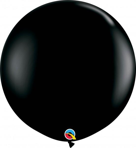 Qualatex Latexballon Fashion Onyx Black 90cm/3' 2 Stück