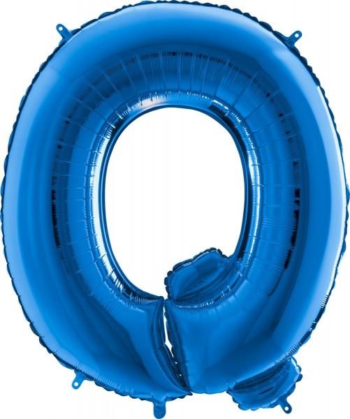 "Grabo Folienballon Buchstabe Q Blue 100cm/40"""