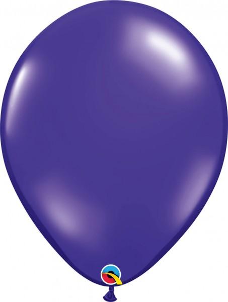 """Qualatex Latexballon Jewel Quartz Purple 40cm/16"""" 50 Stück"""