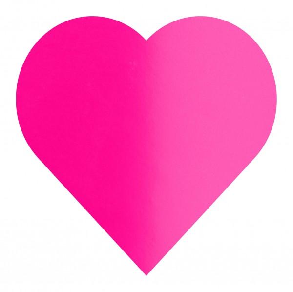Goodtimes Folienkonfetti 3cm Herz 1kg Satin Pink